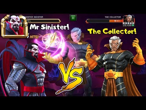 Mister Sinister vs The Collector! CCP - Marvel Contest of Champions