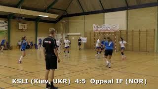 Handball. KSLI (Kiev, UKR) - Oppsal IF (NOR). Viborg. U16G. Gr PO-A1. GENERATION HANDBALL-2018