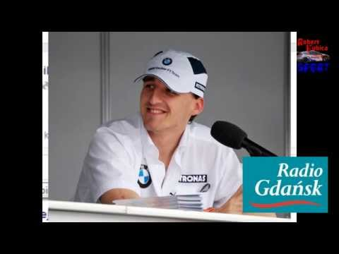 Wywiad z Robertem Kubicą - Radio Gdańsk - 28.04.2014