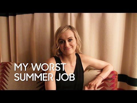 My Worst Summer Job: Taylor Schilling