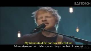 ed sheeran happier sub español lyrics