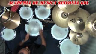 shot in the dark- ozzy osbourne drum cover by ( Gilberto Heredia Cerda )