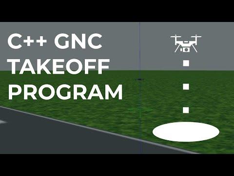 07 C++ GNC Program part1: Takeoff