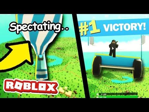 We GLITCHED Roblox Fortnite And Won! (Fortnite Island Royale)