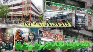 TRAVELING SINGAPORE HALAL FOOD CULINARY