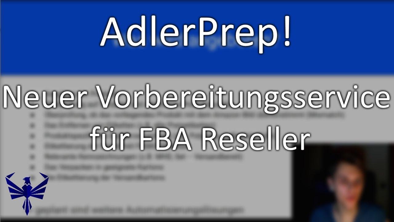 Ankündigung: Arbitrage Adler Prep Center (neuer Vorbereitungsservice für Reseller)