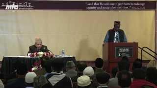 Mwanje Suleiman Katabula - Ex-Ameer Jama'at Uganda - Jalsa Salana West Coast USA 2014
