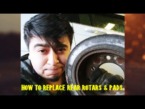 How To Replace Rear Brakes On A 2010 Chrysler Sebring