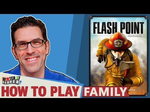 Flash Point Fire Rescue - How To Play - Family Version