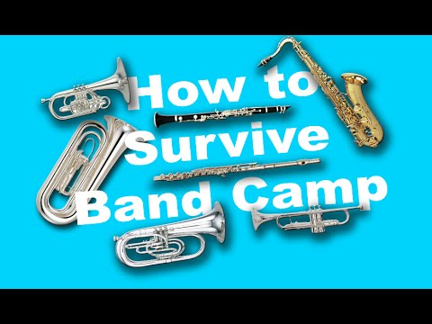 Marching Band Camp Survival Guide 2016