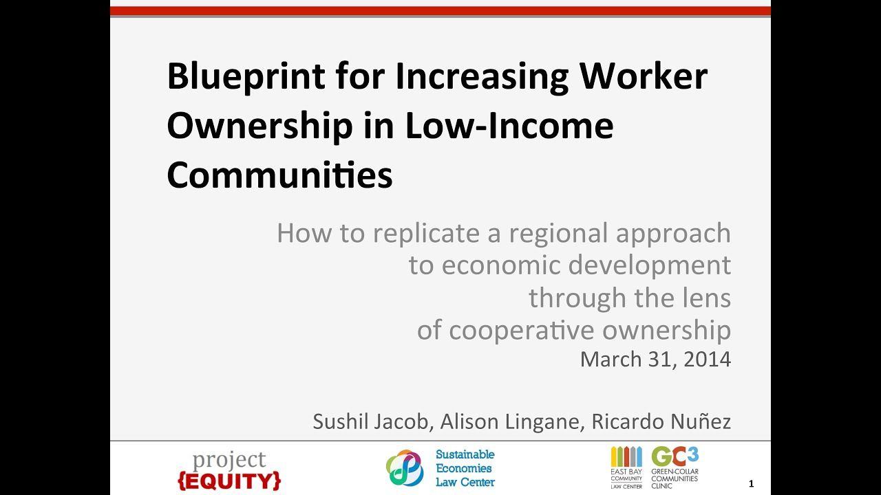 Webinar blueprint for increasing worker ownership in low income webinar blueprint for increasing worker ownership in low income communities malvernweather Gallery