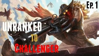 Unranked To Challenger - Jhin ADC Gameplay - Episode 1 | League Of Legends