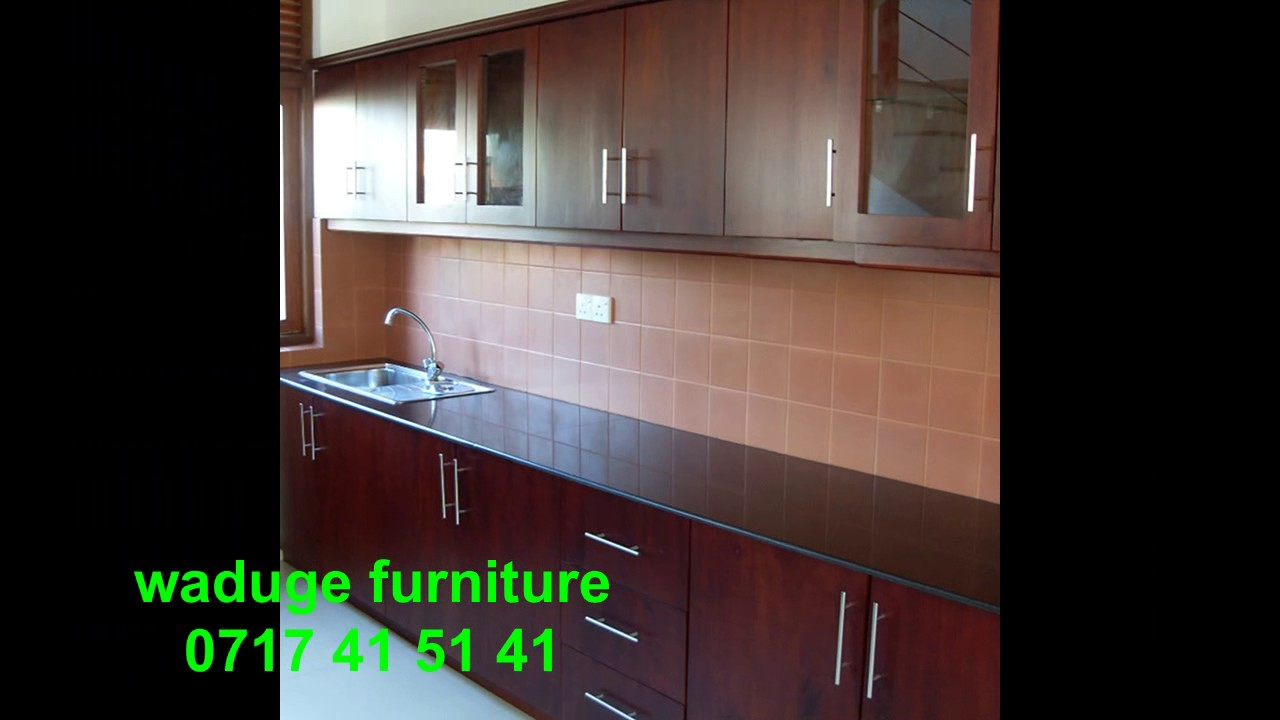 Kitchen Cabinets Design Waduge Furniture Colombo Sri Lanka Youtube