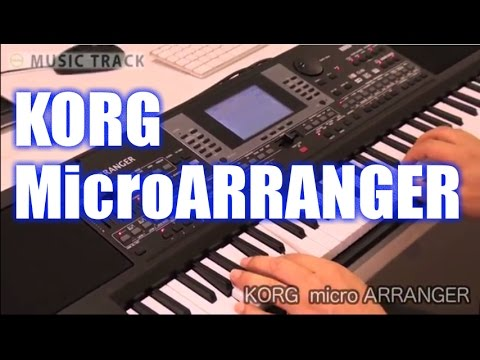 KORG micro ARRANGER Demo&Review [English Captions]