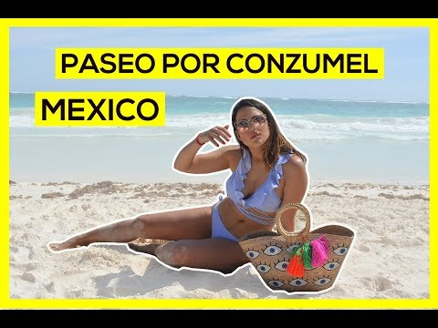EXTRANJERA en MEXICO - ISLA COZUMEL - VLOG 4