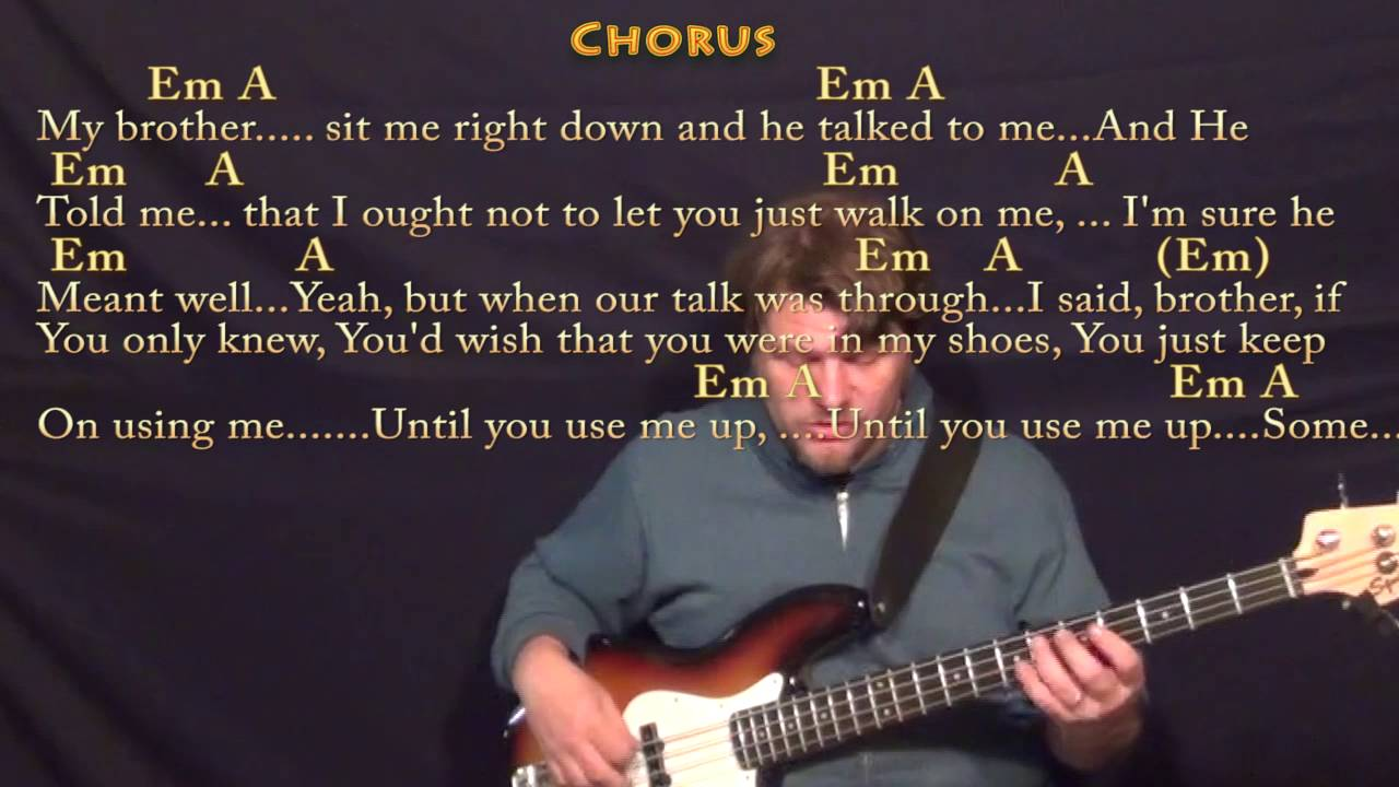 Use me bill withers bass guitar cover lesson with chordslyrics use me bill withers bass guitar cover lesson with chordslyrics hexwebz Image collections