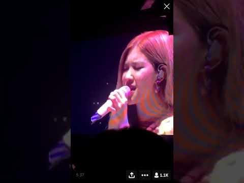 ROSÉ cover U and I (Park Bom)