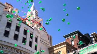 New York-New York Las Vegas Unveils New Plaza Experience 5th Celtic Feis 3-15-14