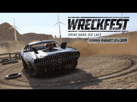 Wreckfest - объявлена дата выхода консольной версии