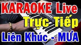 Karaoke Liên Khúc MƯA 2020 | Nhạc Vàng Bolero Tuyển Chọn Đàn Organ Đặc Biệt | Trọng Hiếu