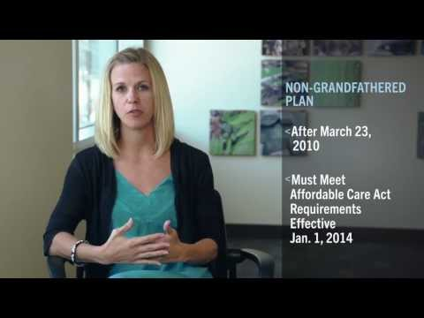 Non-Grandfathered Vs. Grandfathered Health Plans -- Health Care Reform
