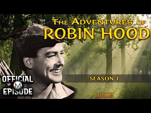 The Adventures of Robin Hood (1955) | Season 1 | Episode 1 : Coming Of Robin Hood [SD] | BabyBoomTV