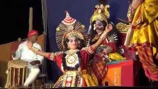 Yakshagana -- Dhee shakthi - 4 - Rajesh bhandari