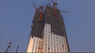Как строят китайцы: 57-этажный дом за 19 дней