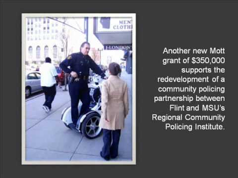 Mott's legacy in community policing revived with new grantmaking