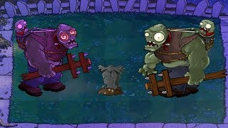 Plants vs Zombies Hack - Hypno-Gargantuar vs Gargantuar