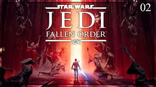 [ PREMIERA ]  Star Wars Jedi: Fallen Order #02   Sanktuarium Jedi!