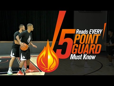 5 Reads & Reacts EVERY POINT GUARD Must Know with Coach Damin Altizer