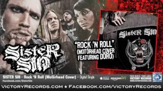 "SISTER SIN ""Rock 'N Roll"" (Motörhead Cover Featuring Doro) Audio Stream"