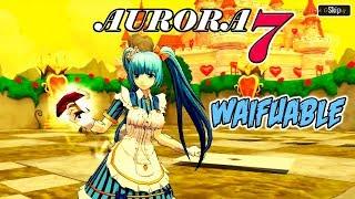 OH YEAHH WAIFUABLE BANGET INI!! | AURORA 7 RPG GAME (ANDROID)