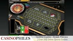 Go Wild Casino Sneak Preview - Casinophiles.com