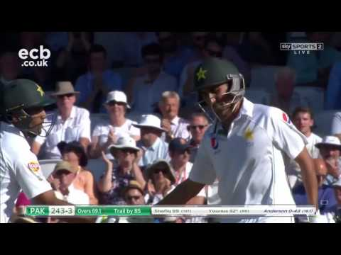 Day two highlights as Pakistan take the lead at the Oval