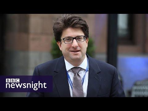 Tory chairman Lord Feldman 'given bullying dossier in 2010' - BBC Newsnight