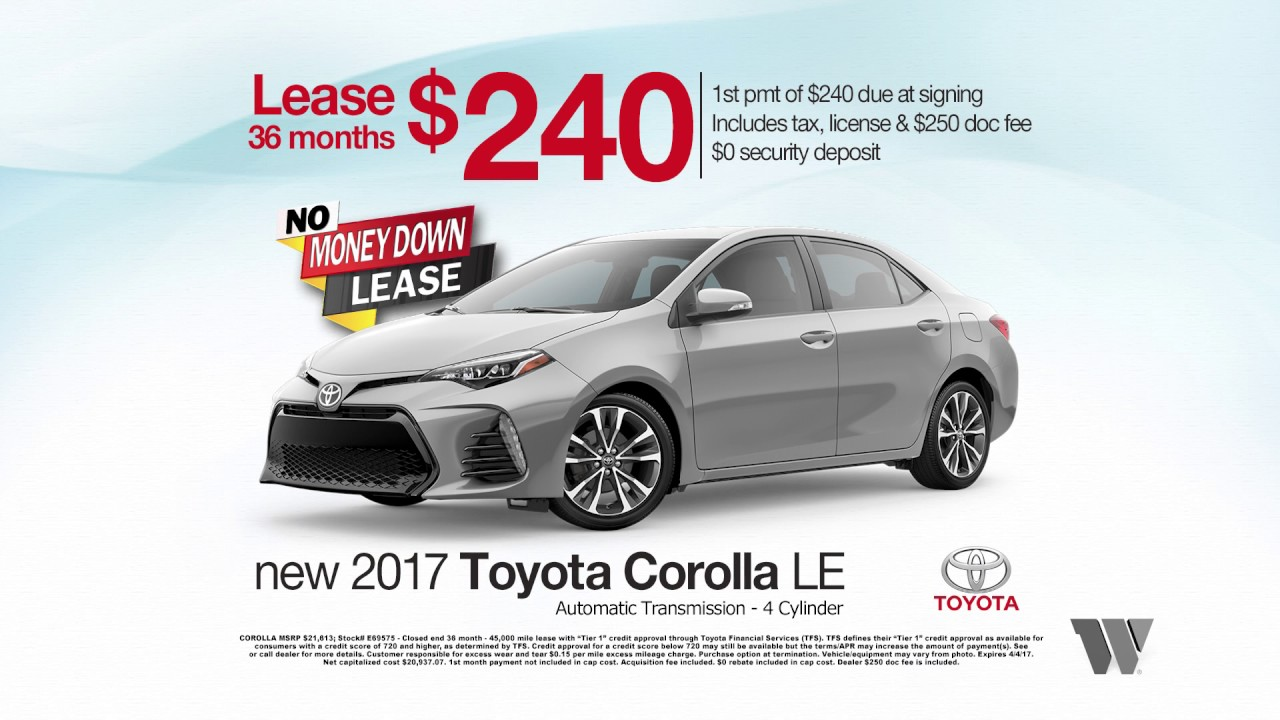 Jeff Wyler Springfield >> Jeff Wyler Springfield Toyota March 2017 Specials - Camry & Corolla - YouTube