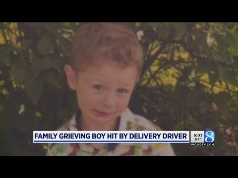 Family grieves boy hit by car, killed