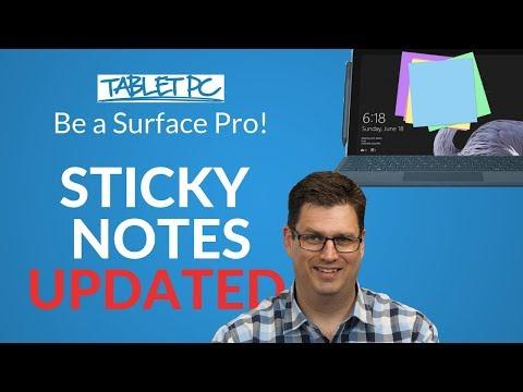 Windows 10 Sticky Notes - V3 Update