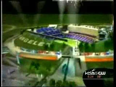 L.A. Football Stadium on KTLA news - Part 1 of 2 (4/17)