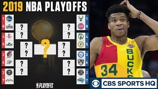 """The Bucks are VULNERABLE in the FIRST ROUND"" - Brad Botkin's 2019 NBA PLAYOFF PREVIEW 