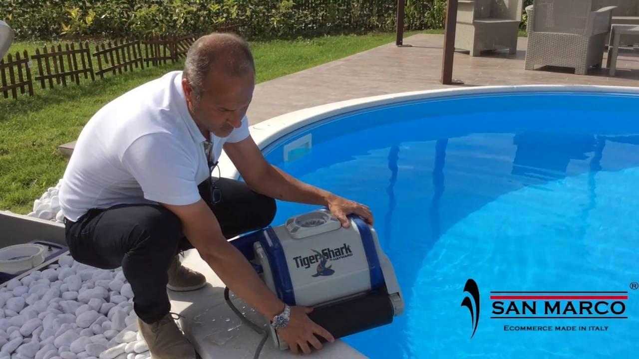 Hayward filtro piscina hook up