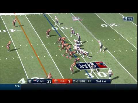 Chris Hogan 43 yard & 64 yard catches Week 5 in Cleveland