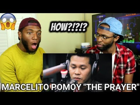 """Marcelito Pomoy sings """"The Prayer"""" (Celine Dion/Andrea Bocelli) LIVE on Wish 107.5 Bus (REACTION)"""