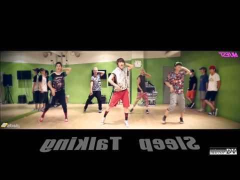 NU'EST - Sleep Talking (dance Practice) MirrorDV