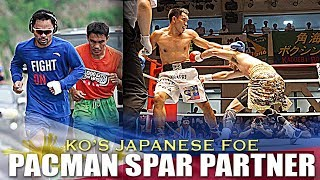 PACQUIAO'S SPAR PARTNER TINAMPAY KO'S FUKUMOTO AGAIN IN REMATCH IN TOKYO