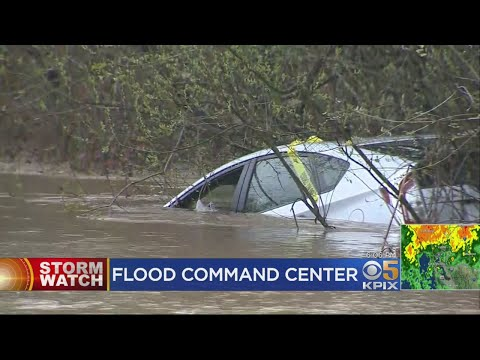 Command Center Coordinates Russian River Flood Rescues