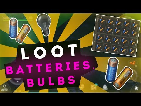 Best Loot! BATTERIES and BULBS // Last Day on Earth: Survival