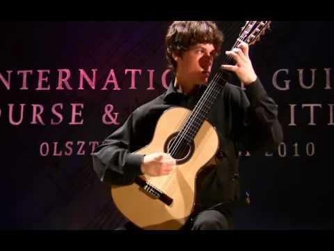 Marek Pasieczny PARTITA in A Marcin Kuzniar (guitar) 1/2